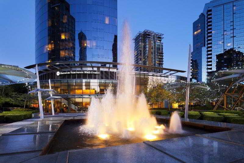 溫哥華喜來豋華爾中心,SHERATON VANCOUVER WALL CENTRE